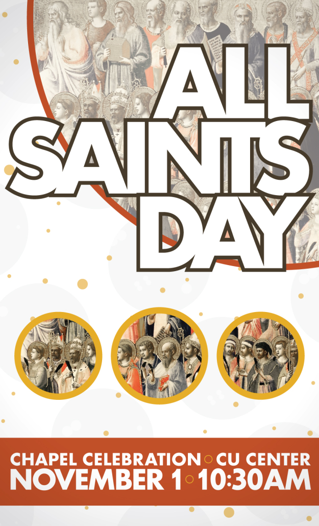 Brandon Charnell All Saints Day Poster