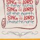 Brandon Charnell Psalms Poster