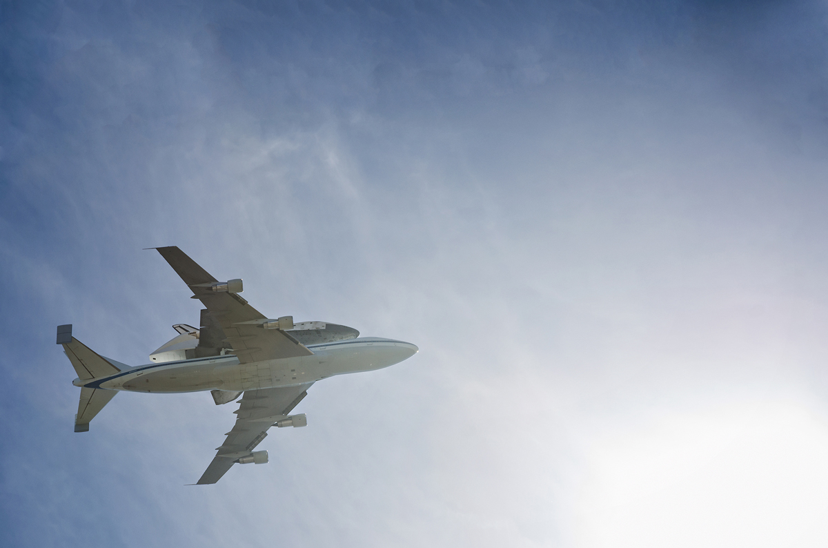 Endeavor Space Shuttle Final Flight Photo