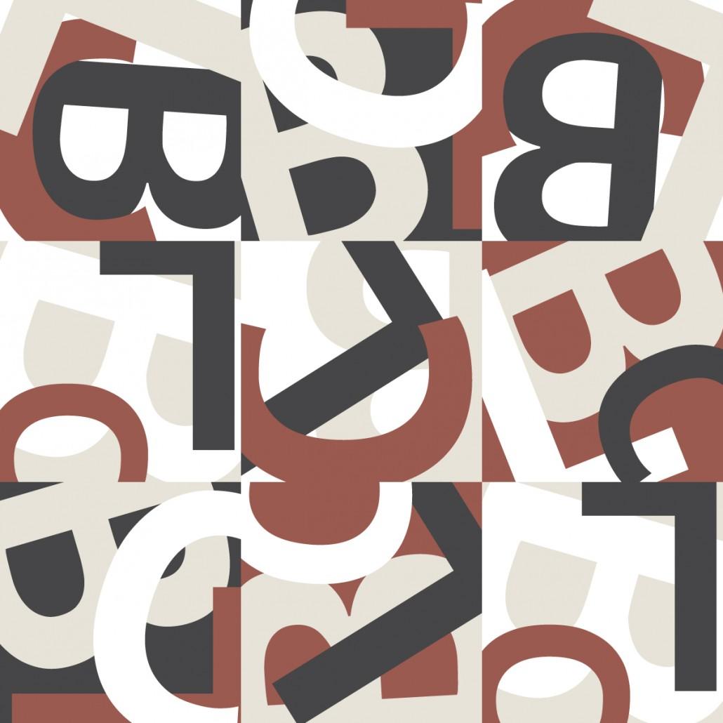 Brandon Charnell Initials Pattern Design 2