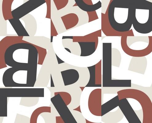Brandon Charnell Initials Pattern Design 3