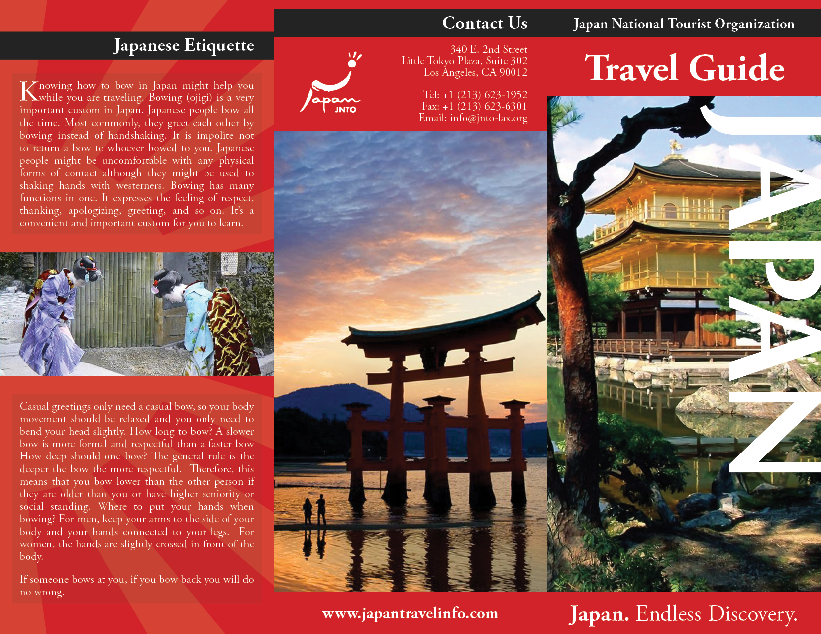 brochure travel