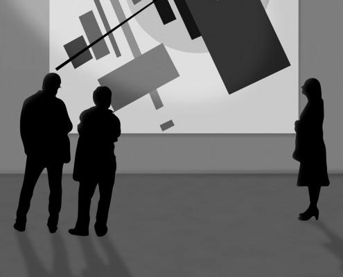 LACMA Malevich Exhibit Poster Design