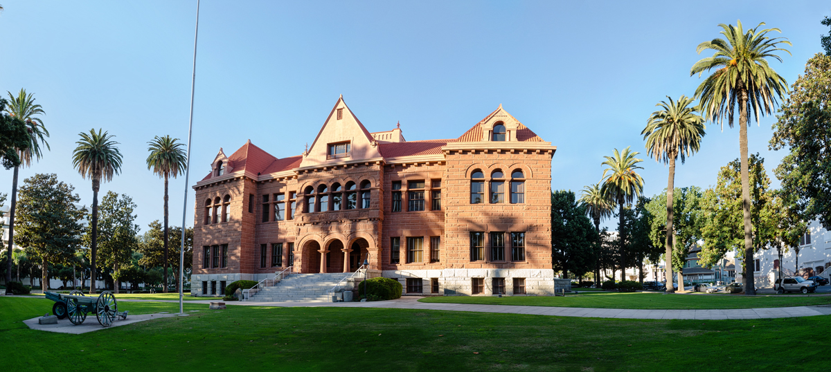 Old Orange County Courthouse Panorama